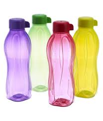 Snapdeal Home Decor Tupperware Water Bottle 1 Ltr Set Of 4 Buy Tupperware Aquasafe