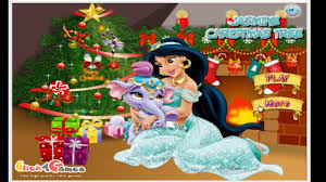jasmine christmas tree cartoon video game for kids youtube