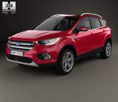 Ford Escape 2012 - ford escape 2012 3d model hum3d