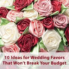 inexpensive wedding favors ideas creating wedding favors on a budget to help you save for the honeymoon