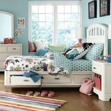 bedroom minimalist twin platform bed design with white storage