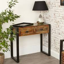 industrial console table with drawers industrial console table with drawers see more at big blu
