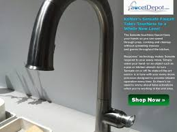 automatic kitchen faucets sink faucet news touch kitchen faucets on with motionsense one