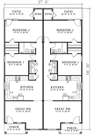 duplex floor plans for narrow lots duplex house plans narrow lots homeca