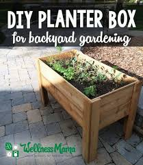 How To Build A Planter by Best 25 Planter Boxes Ideas On Pinterest Building Planter Boxes