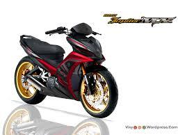 Modifikasi mobil dan motor modifikasi jupiter mx motor yamahanjmx jupiter 135cc jupiter mx red
