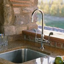 kohler k 8761 cp essex entertainment sink faucet polished chrome