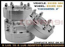 mustang 4 to 5 lug adapters 4 lug to 5 lug conversion ebay