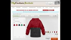 custom jackets design your own custom jackets online youtube