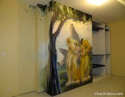 fresque chambre bébé chambres de filles décoration graffiti deco