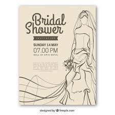 vintage bridal shower invitations vintage bridal shower invitation with vector free