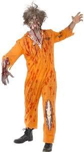 Orange Prison Jumpsuit Halloween Costume Mens Burglar Costume Prisoner Halloween Costumes
