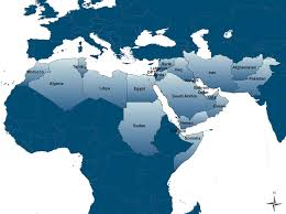 africa map review map of the middle east and africa region the defintion
