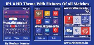 themes for nokia c2 touch and type ipl 8 with fixtures hd theme for asha 202 203 x3 02 300 303 c2 02 c2