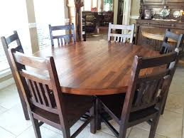round dining and kitchen tables custommade com hand crafted 66 inch plank top dining table by bruce stacy
