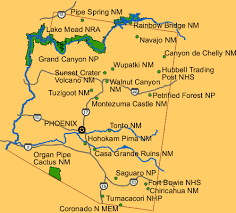 Arizona national parks images Arizona national and state parks travel around usa gif
