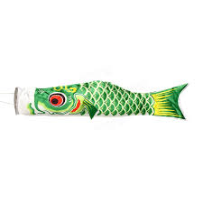 100cm koi nobori carp wind sock koinobori fish kite flag hanging