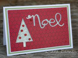 christmas card using stampin up merry moments dsp wondrous wreath