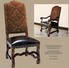 Best Furniture Images On Pinterest Dining Room Leather - Leather and fabric dining room chairs