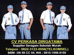 Seragam Sekolah Lengan Panjang wa 0815 1556 5150 supplier seragam sekolah lengan panjang cv
