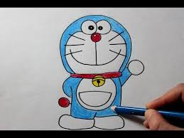 how to draw doraemon easy drawing tutorial youtube