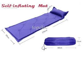new outdoor air mattress camping inflatable bed self inflating mat
