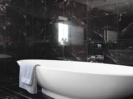 black bathroom tiles ideas thesouvlakihouse com
