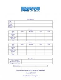 junk removal invoice template window cleaning quote google search
