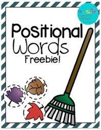 positional words freebie slp syntax pinterest math