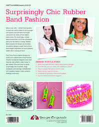 rubber band jewelry all grown up learn to make stylish bracelets