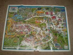 6 Flags Map Maps Storytown Usa A Retrospective