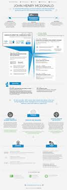 infographic resume template infographic resume template classic corporate visual ly