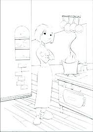 coloring pages of kitchen things kitchen coloring page coloring pages of kitchen items kitchen