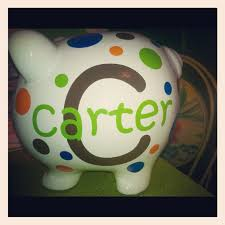 Monogram Piggy Bank 76 Best Piggy Banks Images On Pinterest Piggy Banks Pigs And