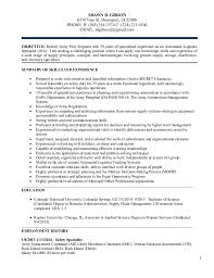Military Resume Sample by Logistics Management Resume For Shawn Gibson 5 December 2014 1