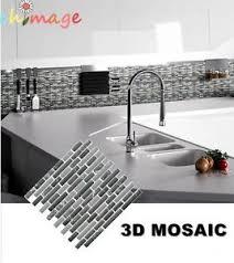 Vinyl Wall Tiles For Kitchen - mosaic self adhesive wall tile sticker vinyl bathroom kitchen home