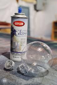 Mercury Glass Home Decor Diy Winter Crystal Mercury Glass Ornaments East Coast Creative