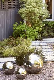 Glow In The Dark Gazing Ball 10 Ideas To Steal From Suburban Gardens Gardenista Sourcebook