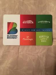 fleming s gift card bloomin brands gift cards the best brand of 2018