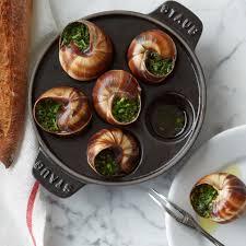 escargot cuisine staub cast iron escargot dish with 6 holes williams sonoma