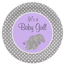 purple elephant baby shower gifts on zazzle