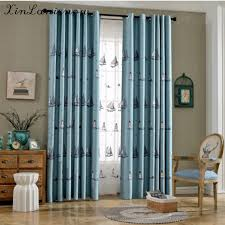 livingroom windows custom mediterranean cotton embroidered curtain for bedroom