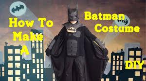 batman costumes make your own batman costume diy youtube