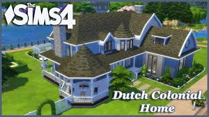 the sims 4 large dutch colonial basegame home 1 2 house build the sims 4 large dutch colonial basegame home 1 2 house build