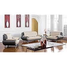 leather livingroom set amazon com eagle furniture highland complete 3