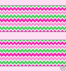 pink mint green chevron wallpaper border wall decal baby