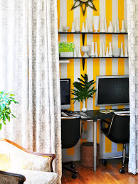 Office Curtain by Tiny House With Tiny Home Offices Hgtv U0027s Decorating U0026 Design