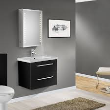 aqua cabinets 600mm black gloss wall cabinet bathroom storage