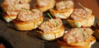 canape de canapé de salmão com endro e vinagrete de mel 29 12 2014 uol