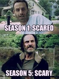 Walking Dead Memes Season 1 - changes of seasons the walking dead pinterest walking